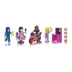 Набір Jazwares Roblox Mix &Match Set Stylz Salon: Makeup W2 - купити в інтернет-магазині Coolbaba Toys